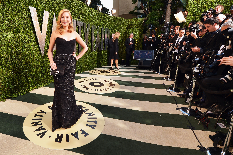 Jennifer Westfeldt arrived at the Vanity Fair Oscar party on Sunday night.