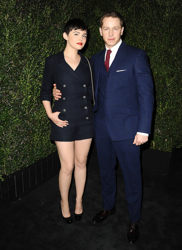 Ginnifer Goodwin and Josh Dallas walked the carpet together.