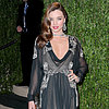 MIranda Kerr Wears Valentino at the Oscars After Party
