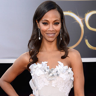Zoe Saldana Oscar Dress 2013 | Pictures