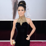 Salma Hayek Oscar Dress 2013 | Pictures