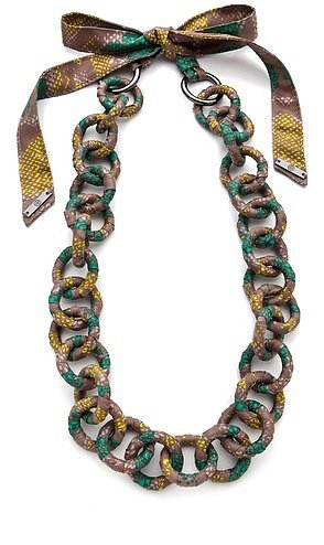Tory burch Pop Snake Necklace
