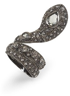 Filigree Snake Ring