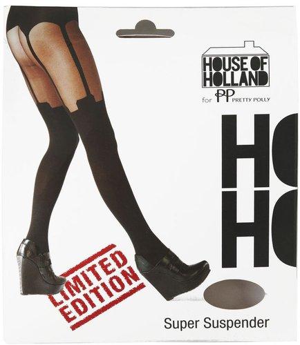 Henry Holland Super Suspender Tights