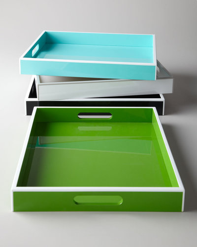 "Swing Design ""Elle"" Lacquer Trays"