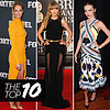 Best Dressed Celebs: Jennifer Hawkins, Miranda Kerr, Taylor