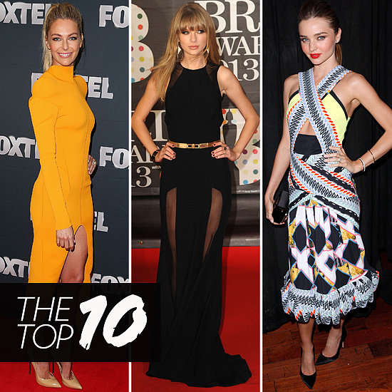 Top Ten Best Dressed of the Week: Jennifer, Taylor, Miranda & More!