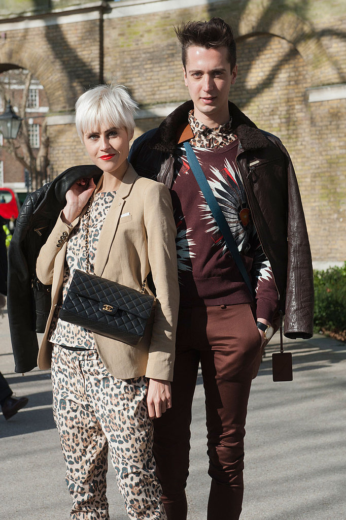 London Fashion Week Street Style Fall 2013