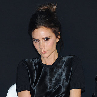 Victoria Beckham With a Bun Hairstyle