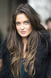 It was about an all-natural look for fresh-faced beauty Binky Felstead. Source: Le 21ème | Adam Katz Sinding