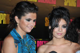 Selena Gomez and Vanessa Hudgens answered questions on the red carpet at their Paris premiere of Spring Breakers.