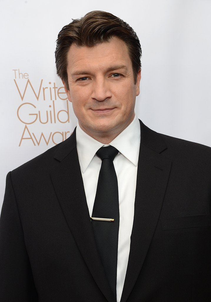 Nathan Fillion looked dapper at the WGA Awards.