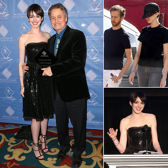 Anne Hathaway Home Shops With Adam Shulman Then Adds Another Les Mis Honor