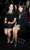 Lana Del Rey chatted with Alexa Chung when they sat together in the front row at the Mulberry Autumn/Winter 2013 presentation at London Fashion Week in February.