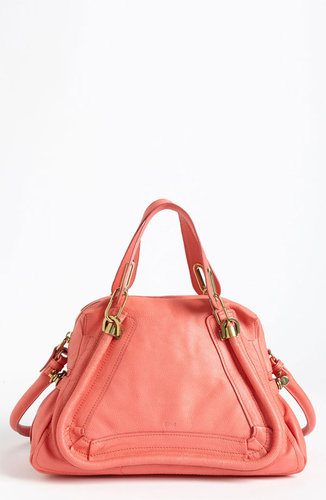 Chloe 'Paraty - Medium' Leather Satchel