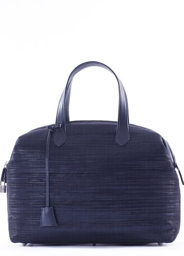 Be Inthavong Bobo Navy With Leather Handles