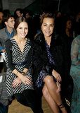Olivia Palermo and Yasmin Le Bon at Matthew Williamson