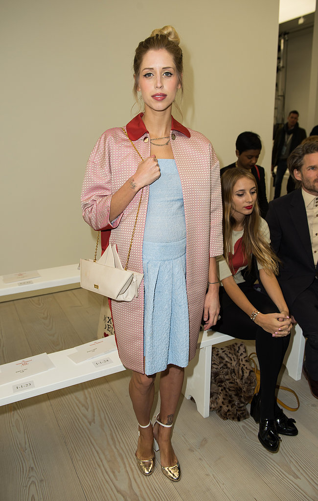 Peaches Geldof at Vivienne Westwood Red Label