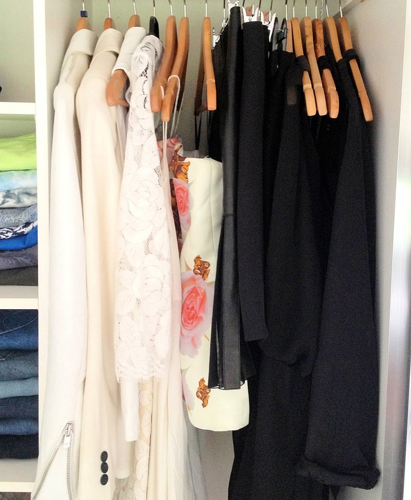 I work for a jewellery brand, but I find myself more often than not completely forgetting to accessorise my outfit. I've started keeping my favourite pieces in categories by colour (golds, silvers and rose gold) presented on my chest of drawers so it's easy for me to add something special to my outfit.