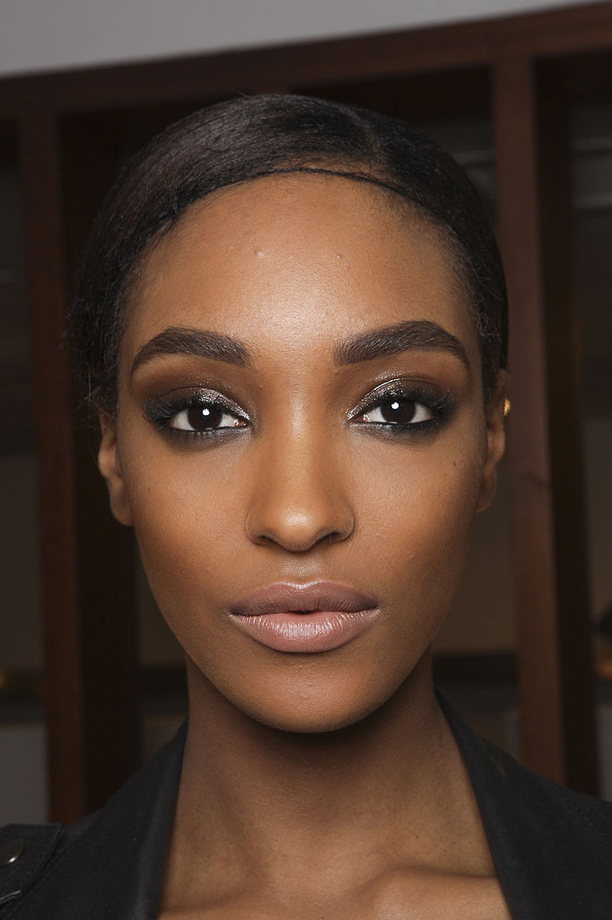 A creamier base for your smoky eye can up the drama, like Tom Ford showed for Fall 2013. Don't forget to pair it with bold brows and a nude lip.