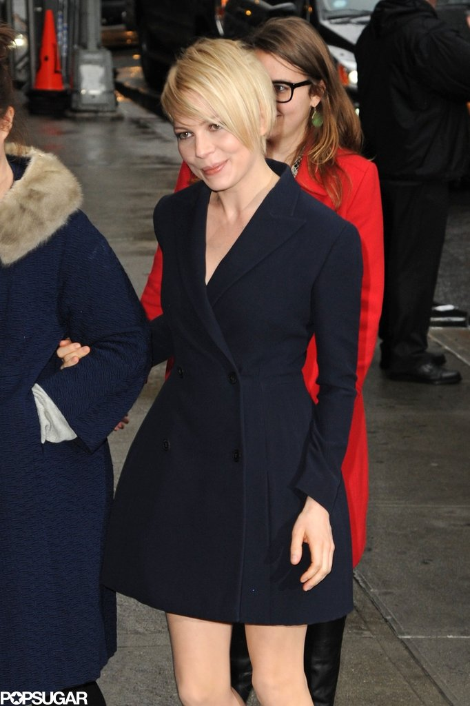 Michelle Williams Makes a Big Apple Stop to Talk Oz and Matilda