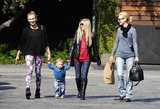 Diane Kruger Does Lunch With January Jones and Little Xander!