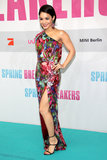 Selena Gomez Suits Up to Bring Spring Breakers to Berlin