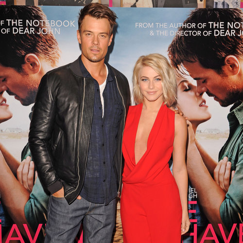 Josh Duhamel and Julianne Hough Promote Safe Haven in UK