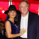 Salma Hayek at Christopher Kane During London Fashion Week