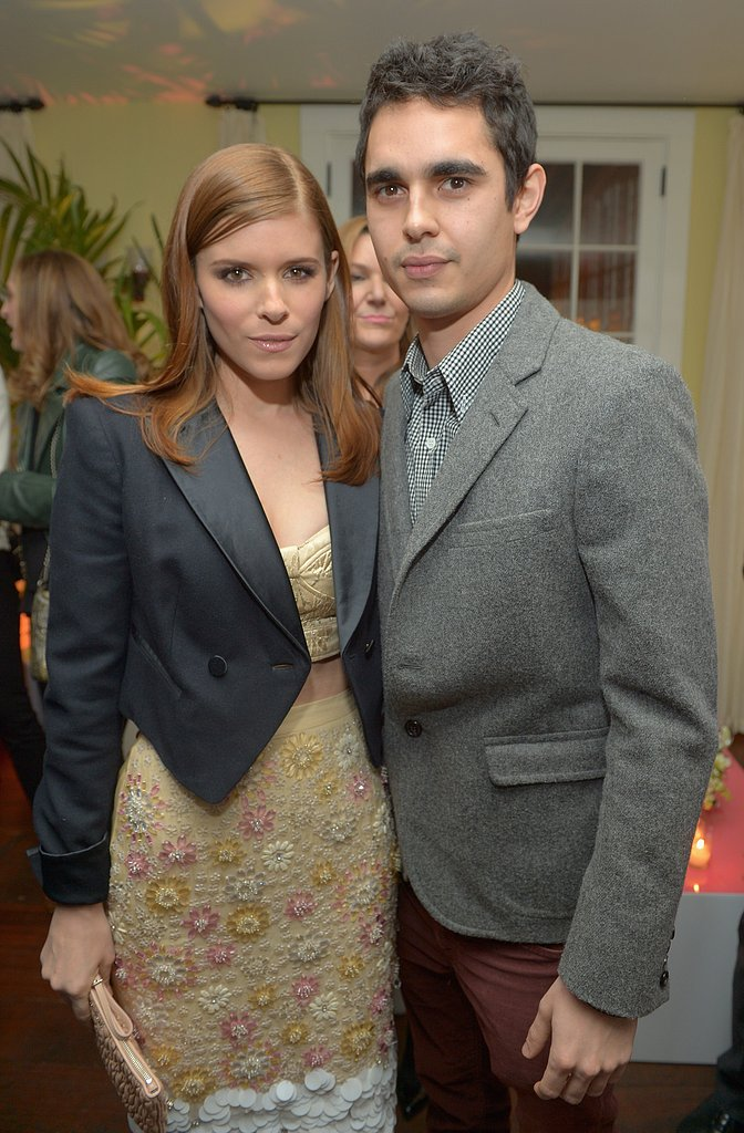 Kate Mara posed for a photo with boyfriend Max Minghella.