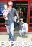 "The Beckhams visited an LA Toys""R""Us in July 2007 and left with a bag full of goodies."