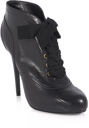 Alexander McQueen Lace-up shoe boots