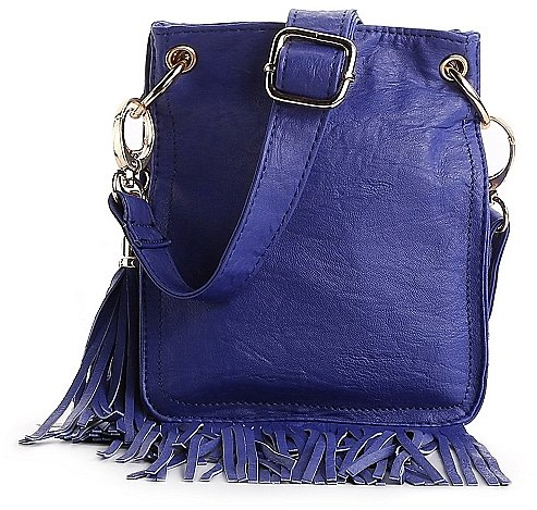 Poppie Jones Cynthia Fringe Mini Cross Body Bag
