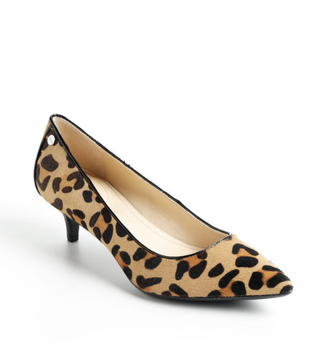 CALVIN KLEIN Nicki Kitten Heel Pumps