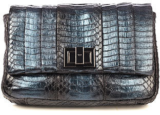 Anya Hindmarch Mini Gracie snakeskin cross-body bag