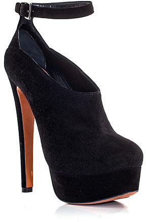 Azzedine Alaia Suede ankle-strap shoes