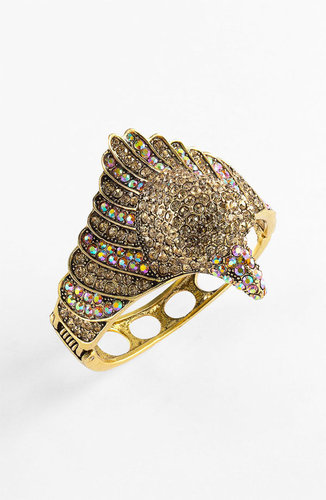 Guinevere &#039;Diva Eagle&#039; Hinged Bracelet