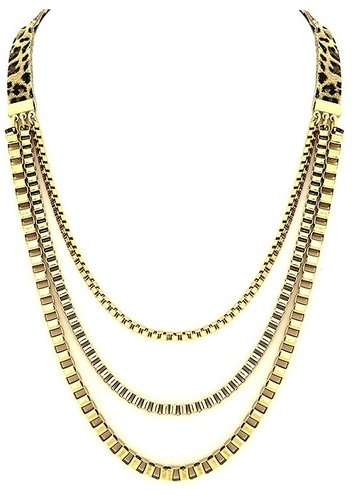 Belle Noel Chain Swag Necklace