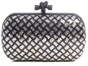 Bottega Veneta Sequin clutch bag