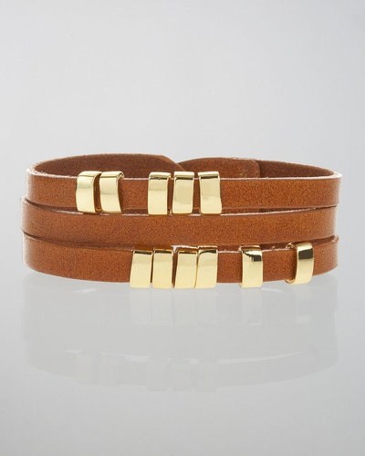Linea Pelle Sliced Leather Bracelet
