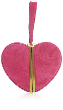 Diane Von Furstenberg Heart box-clutch