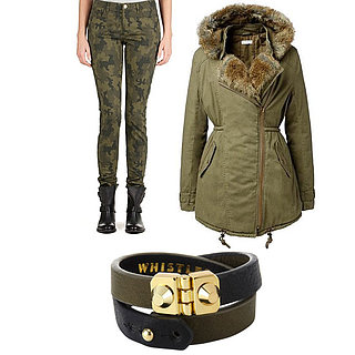 Currently Trending: Military, What to Shop and How to Wear