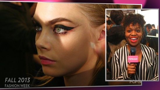 Anna Sui's '60s Makeup Makes Us Want to Bat Our Lashes!