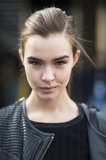 Model Josephine Skriver showed how just a dab of shadow on the inner corners of your eyes instantly brightens your look. Source: Le 21ème | Adam Katz Sinding