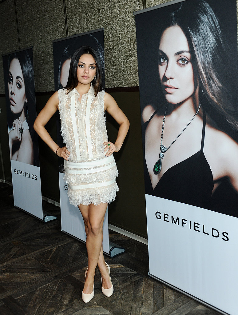 Mila Kunis Takes On a Sparkly New Role With Gemfields Jewelry