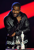 Frank Ocean gave an acceptance speech after his win.