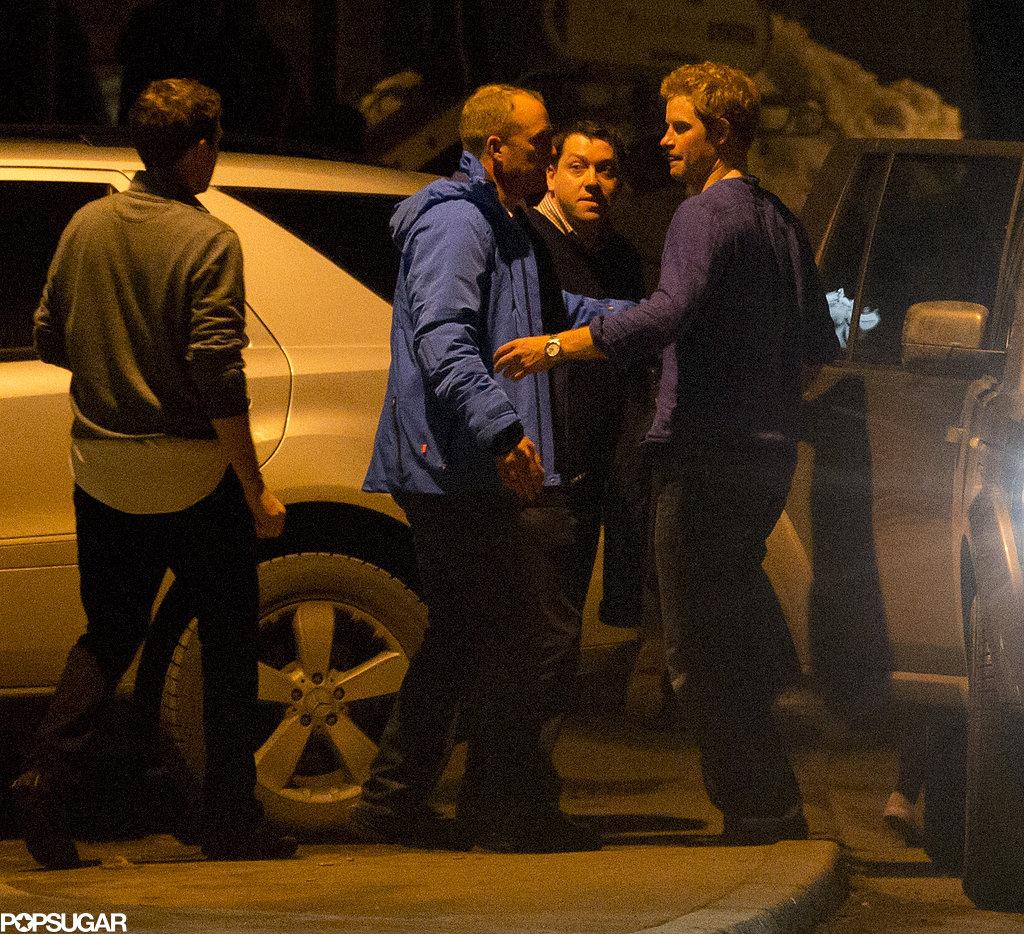 Prince Harry left a club with Cressida Bonas and Princess Eugenie.