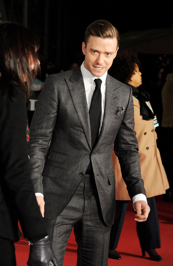 Justin Timberlake hit the red carpet at the Brit Awards in London.
