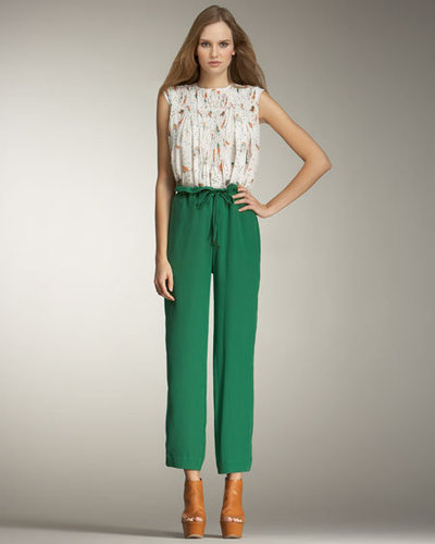 Wide leg trousers 2012