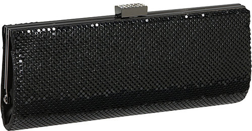 Jessica McClintock East West Metal Mesh Clutch